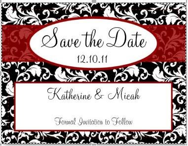 Save The Date Wording For Vow Renewal
