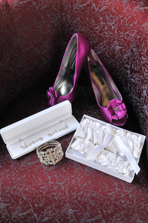 My Shoes and Jewlery :  wedding jewelry pink purple shoes white JA2