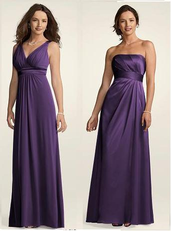 wedding bridesmaids colors davids bridal Bridesmaid Dresses Lapis