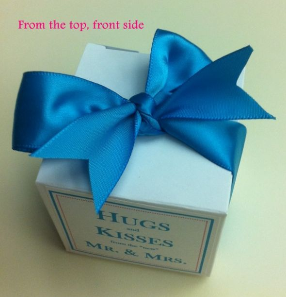 100 personalized favor boxes for under $20! ...Link to Template Works Now...