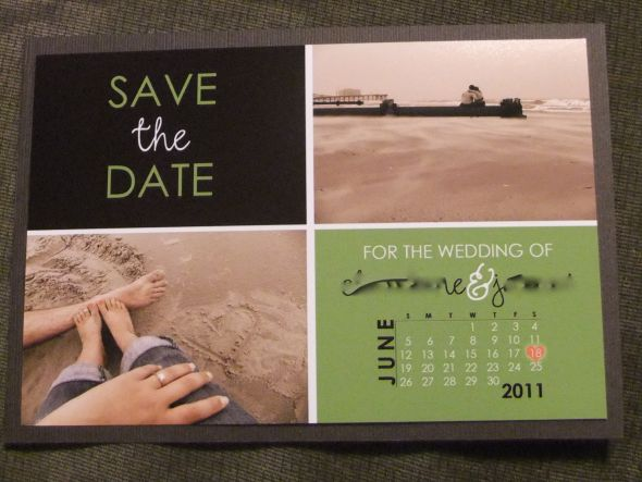 DIY Save The Date's Are Out