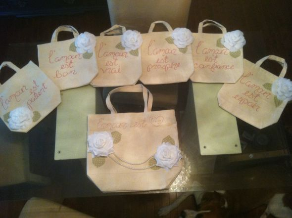 Bridal Bags FINISHED :  wedding bridesmaids diy 280647 222831034428017 100001033655138 706617 796745 O