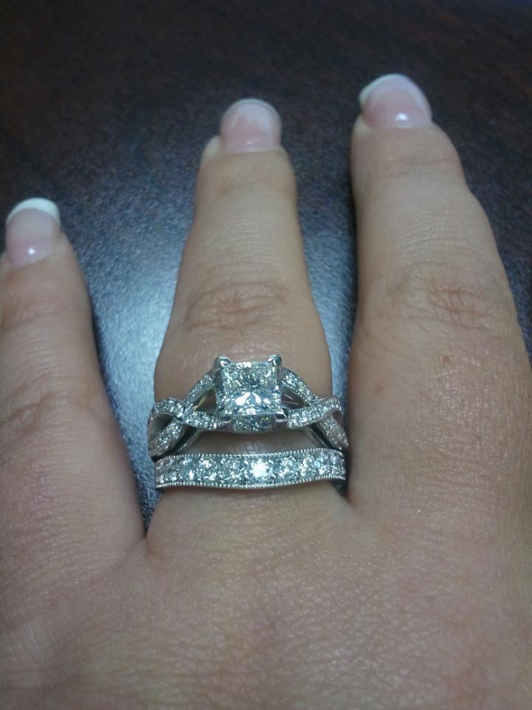 My wedding ring set
