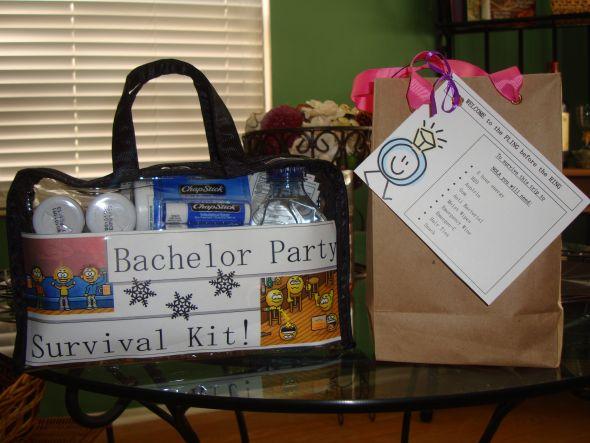 Bachelor/Bachelorette Party Survival Kits