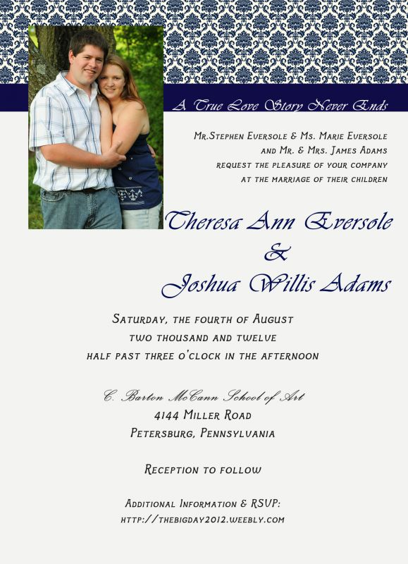 Invite Poll Which one wedding invitation poll Invite Psd Front