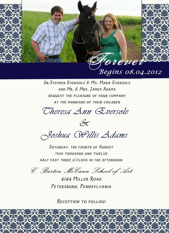 wedding invitation poll Invite