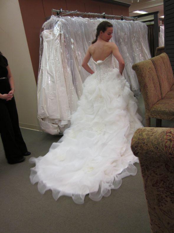 Yep, this is my dress :) :  wedding allure c170 dress IMG 0994