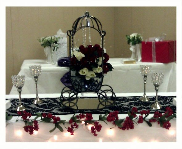 Black and Red Wedding Decoration Sale wedding black red white ceremony