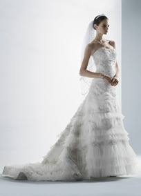 My wedding dress style CWG352