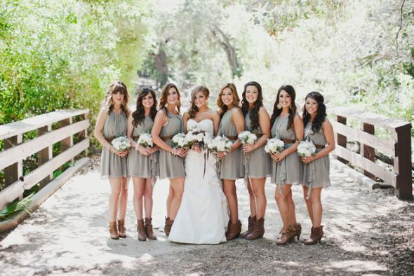 Wedding Party Dresses To Wear With Cowboy Boots