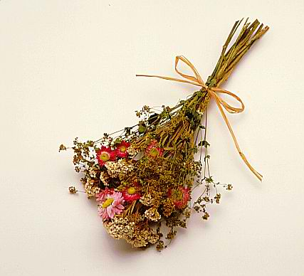 you think about using dried flowers for centerpieces and or bouquets
