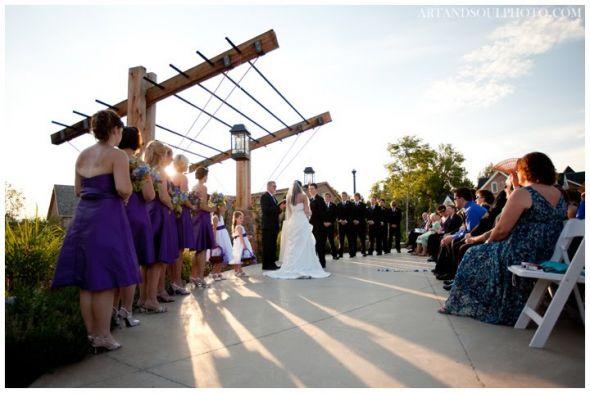 wedding decorate arbor ceremony decor Brookside Gardens Wedding 022