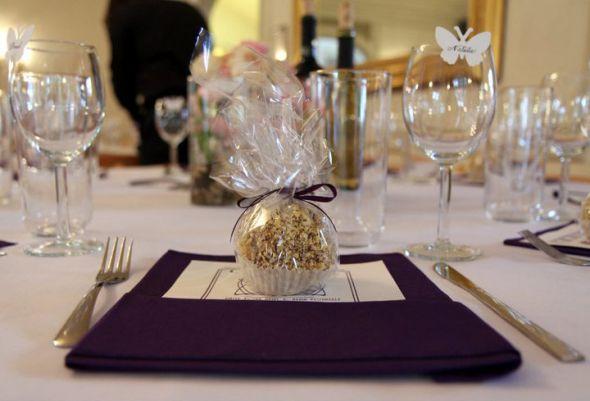 Eggplant Purple Silver White wedding purple reception decor nj white