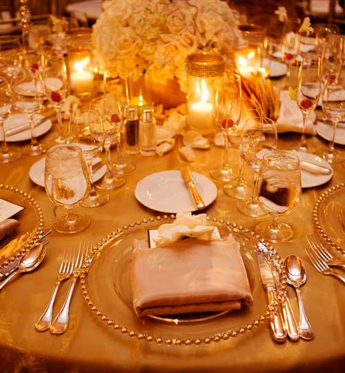 I love champagne ivory and blush with gold accents