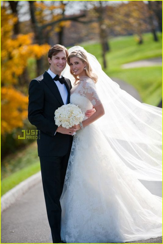 ivanka trump wedding dress. Ivanka Trump Looked so
