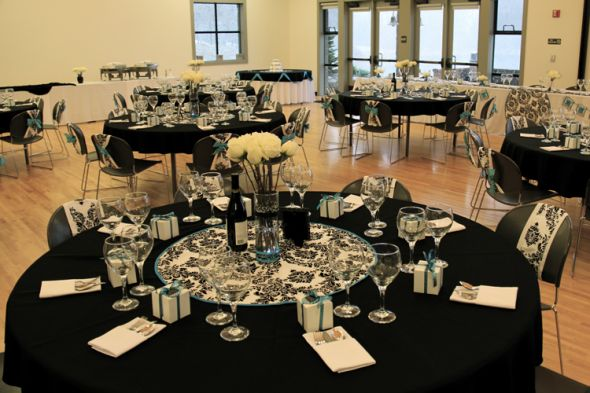 Table Decorations Black And White Theme Free Wedding Decorations Romantic Decoration