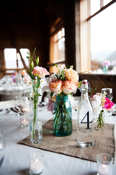 rustic vintage country centerpiece wedding Wedding Centerpieces