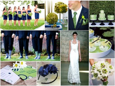 wedding navy white color palette Navygreen5