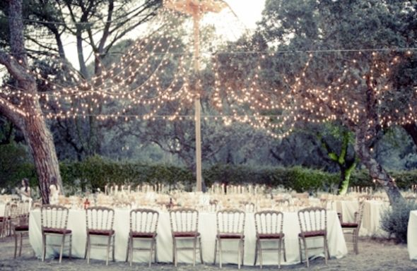 Inspiration – String Lights – Ultrapom: wedding and event decor rental
