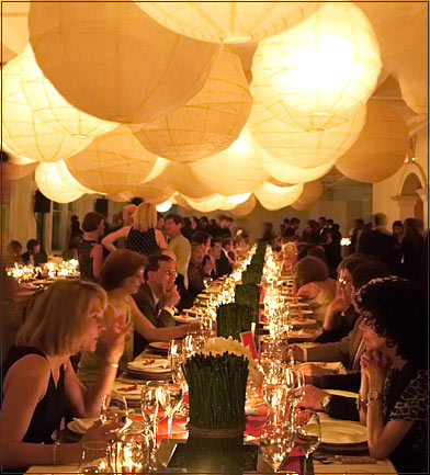 Is it weird to hang paper lanterns inside a restaurant wedding Lantern1