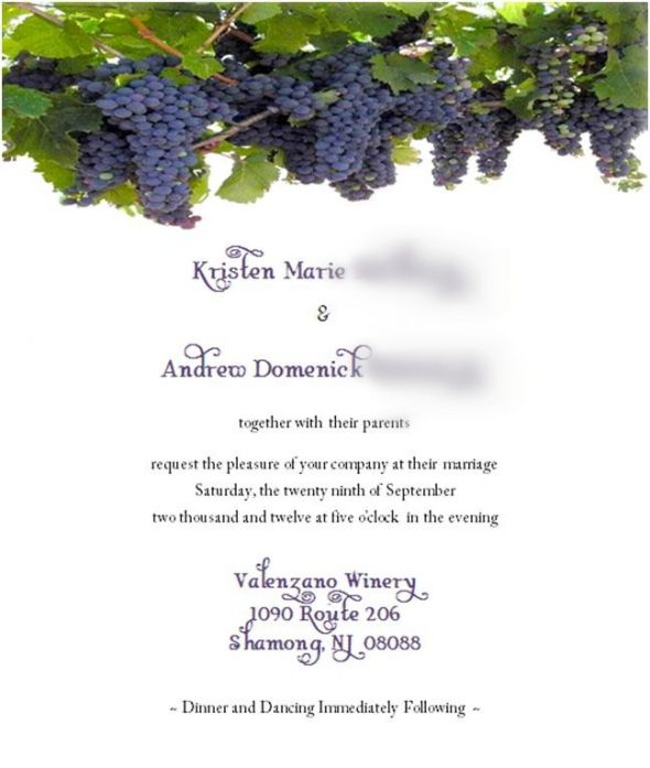 Sample Wording For 5x7 Pocketfold Invitation