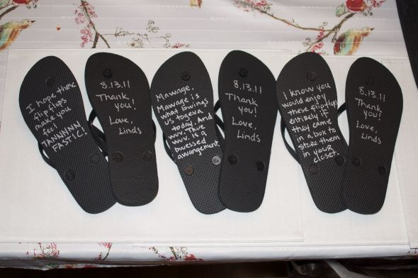 52896649bc7c Give your bridesmaids a personalized message by placing it on their ...