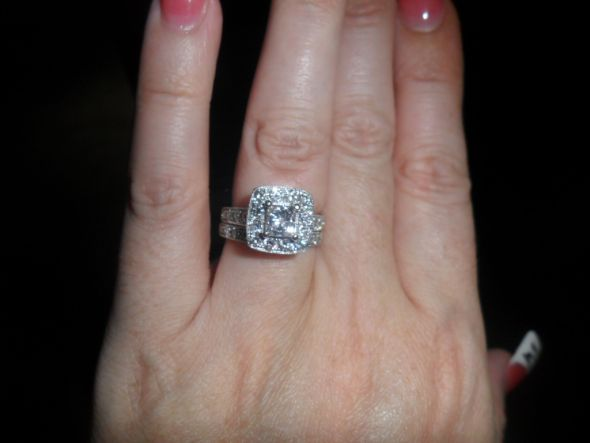 Who like their Engagement ring better without their wedding band