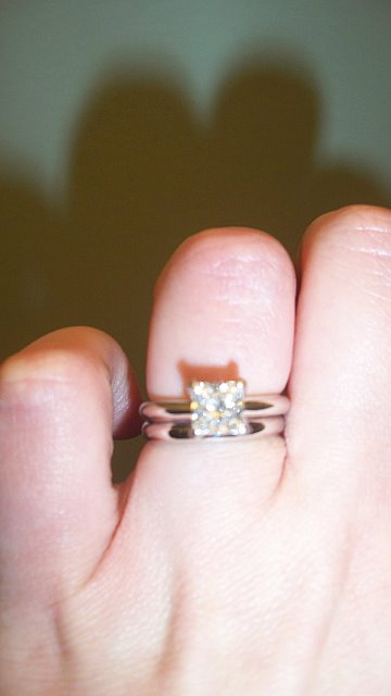 Please show me your plain wedding bandI know you gals are out there