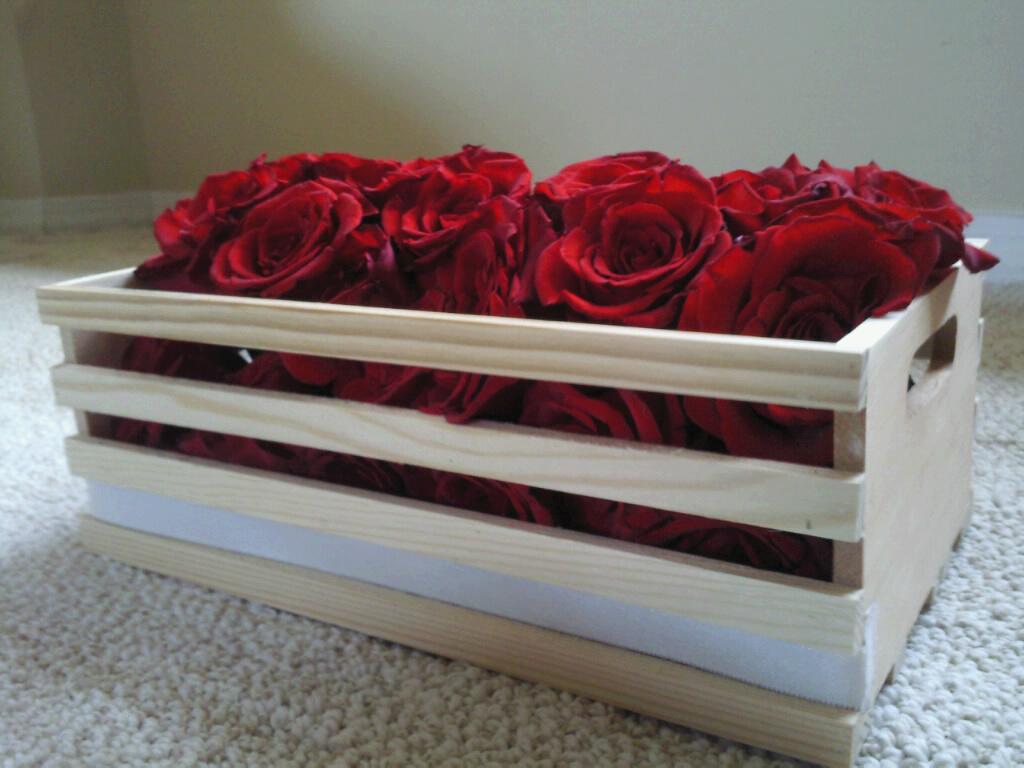 Diy rose centerpiece weddingbee photo gallery