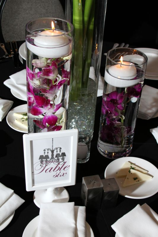 Tolsby Frames with Table Numbers wedding black purple white IMG 7332