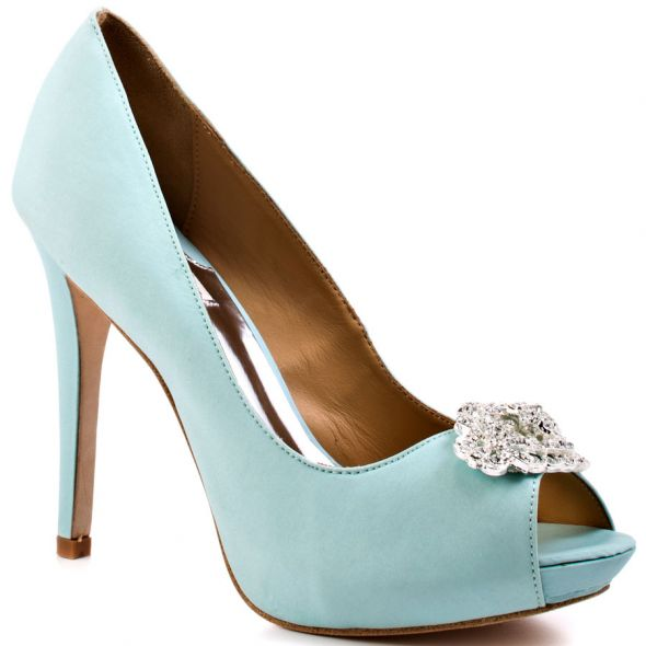 good place to buy some blingy light blue heels weddingbee