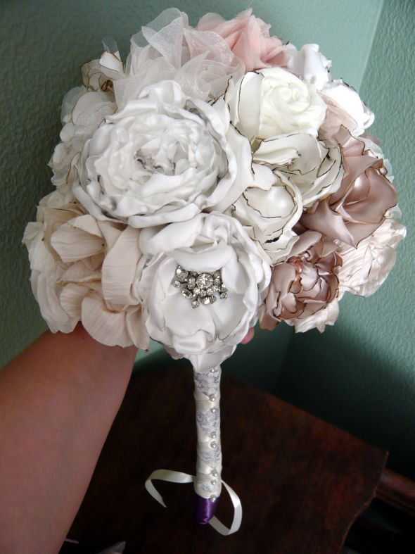 Fabric Flower Bouquet