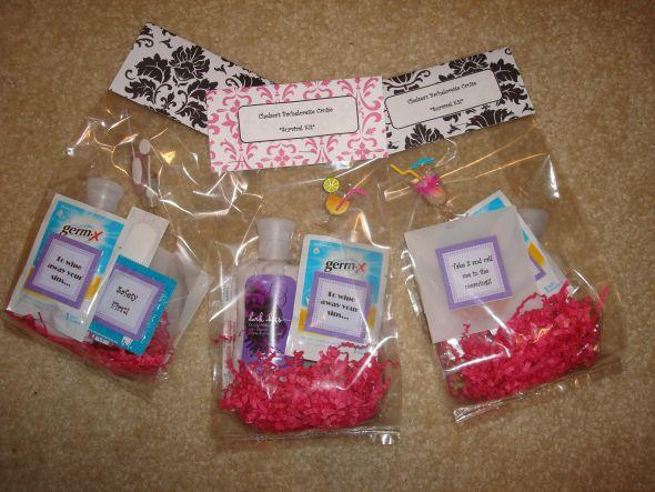 diy bachelorette cruise survival kit weddingbee