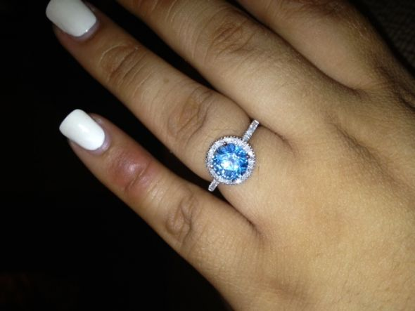 Post Your Colored Gemstone Engagement Rings Weddingbee