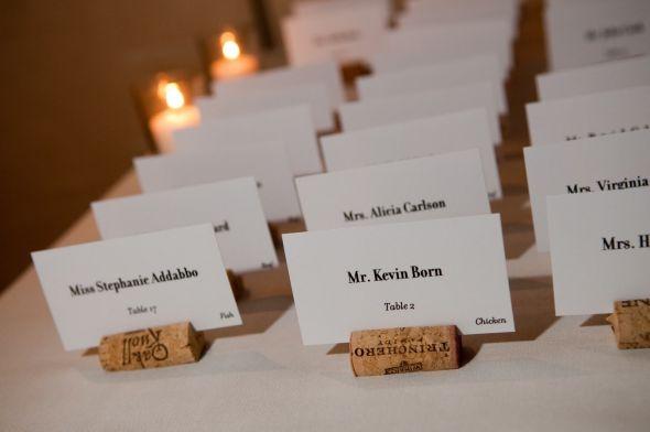 wine cork wedding ideas