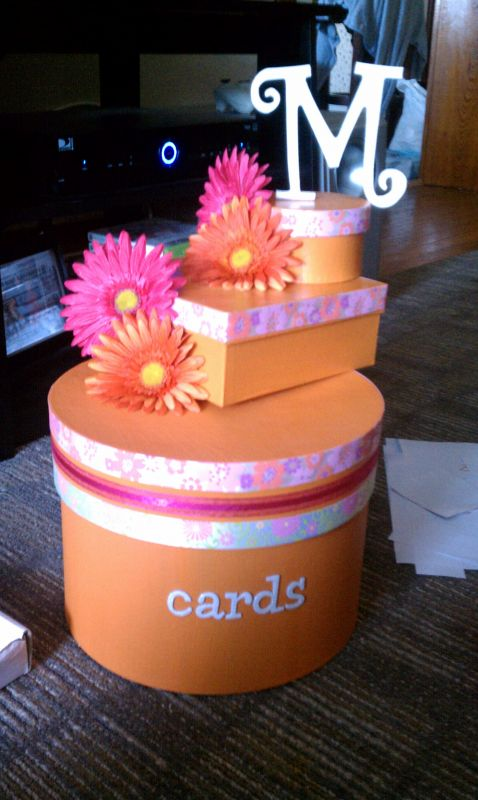 Love My DIY Cardbox and it was soo easy!!