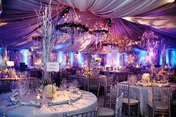Ice blue and lavender inspirations please!