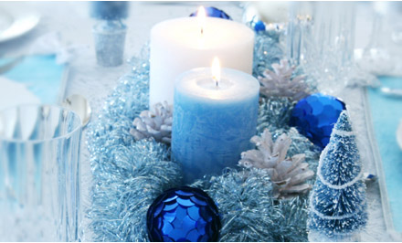 Need some help for my Winter Wonderland wedding! :  wedding icy blue wedding winter Centerp Winter