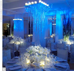 Need some help for my Winter Wonderland wedding! :  wedding icy blue wedding winter Large Image