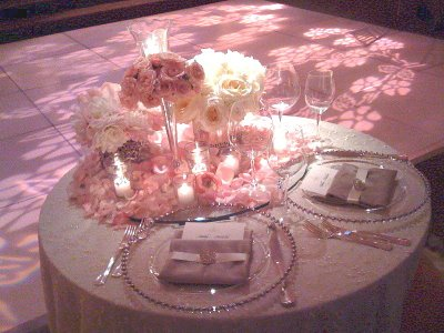 If you were a guest at my wedding :  wedding Pink Sweetheart Table