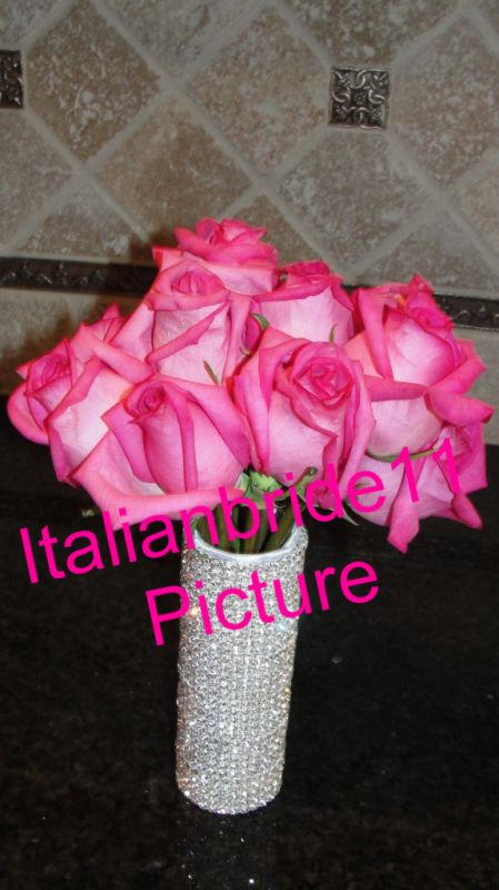 New Style Bouquet Holder With Bling wedding 024 2 1
