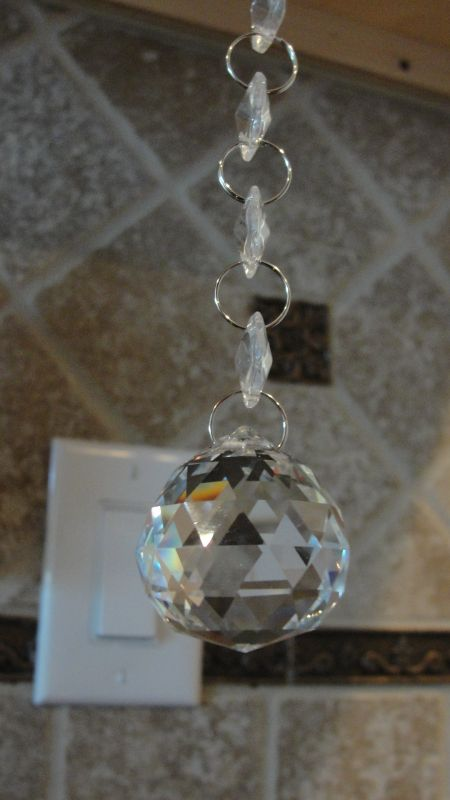 Hanging Crystal (glass) SALE!!!!! :  wedding 003glass Ball