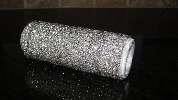 SWAROVSKI* Bouquet Holders... AMAZING-Dazzling-BLING! :  wedding 003holder.JPG