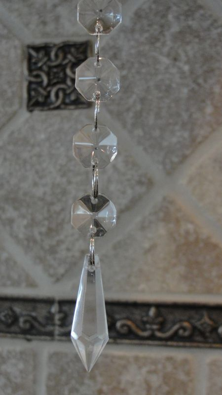 Hanging Crystal (glass) SALE!!!!! :  wedding 009265