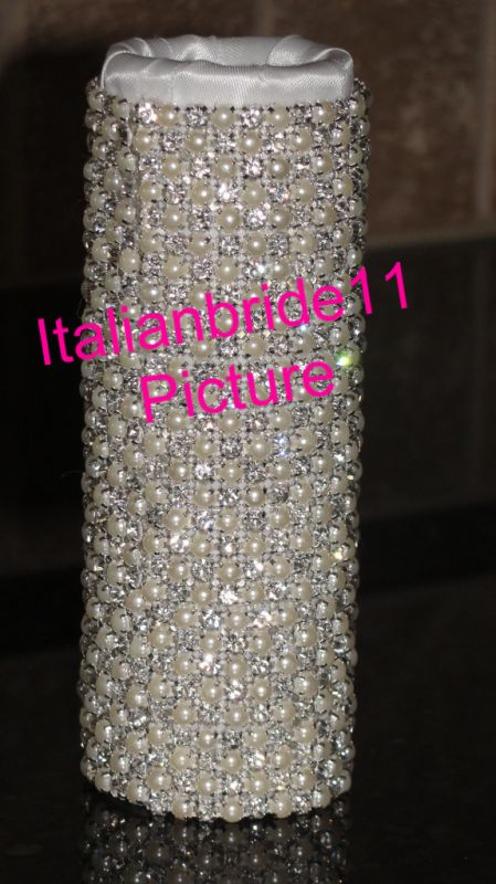 SWAROVSKI* Bouquet Holders... AMAZING-Dazzling-BLING! :  wedding 024 2 1.jpg