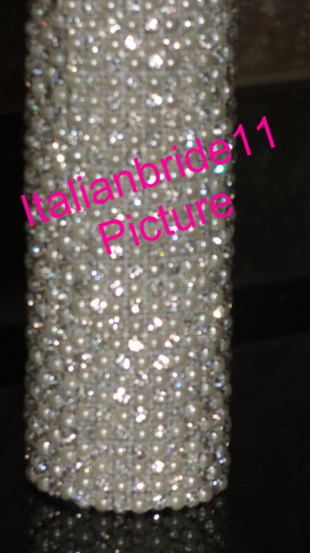 SWAROVSKI* Bouquet Holders... AMAZING-Dazzling-BLING! :  wedding 025 1 1.jpg