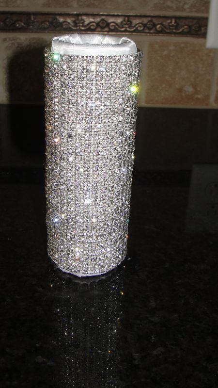 SWAROVSKI* Bouquet Holders... AMAZING-Dazzling-BLING! :  wedding Holder.JPG