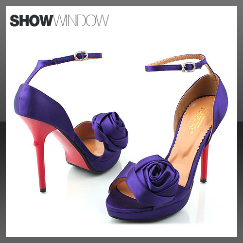 POST YOUR PURPLE WEDDING SHOES wedding purple shoes