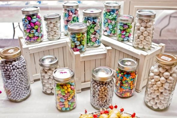 wedding skittles candy
