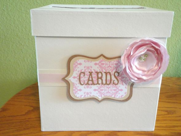 Wedding Shower Gift Card Box : Bridal Shower Card Box : wedding bridal shower card box diy ...